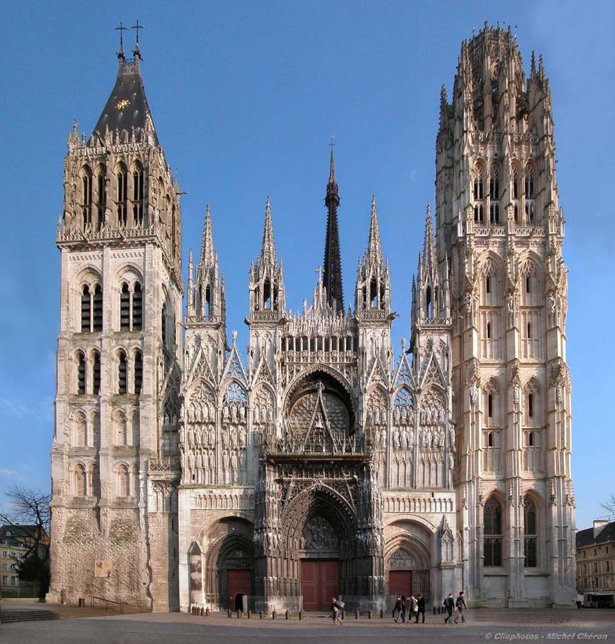 Notre-Dame de Rouen en France