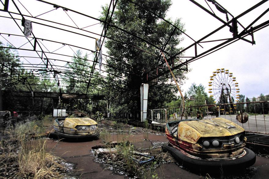 Parc de Prypyat en Ukraine
