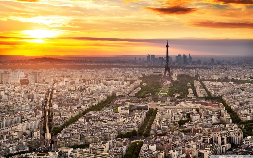 Paris en France