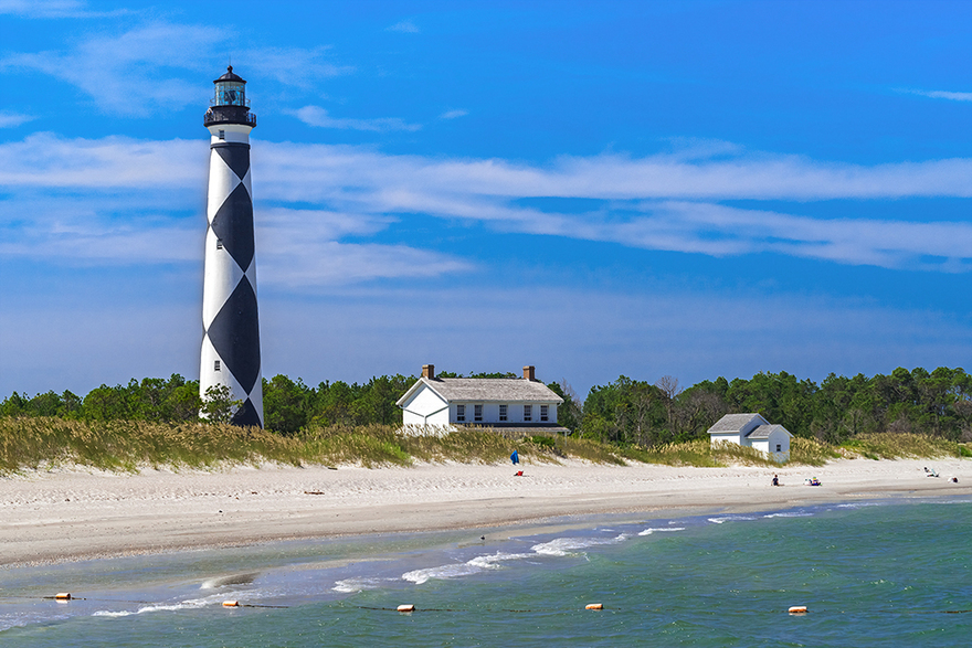 Phare Cape Lookout, USA