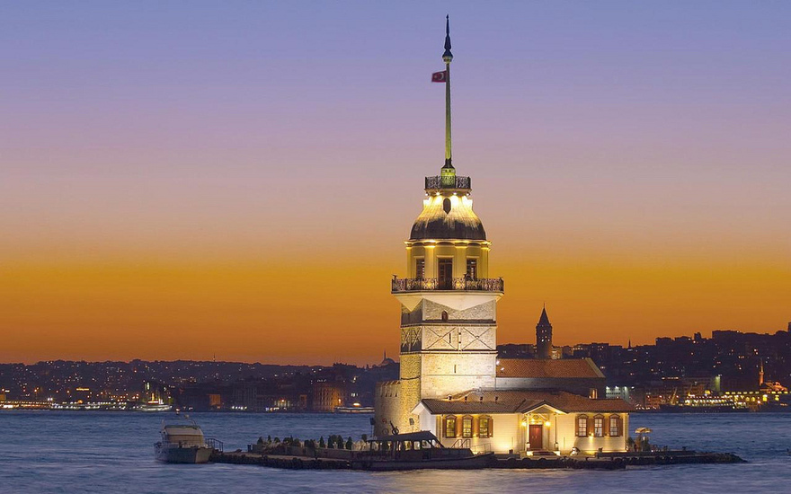 Phare de Kiz Kulesi, Turquie