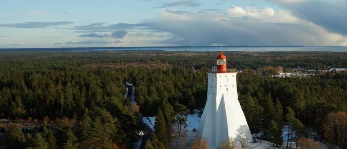 Phare de Kõpu en Estonie