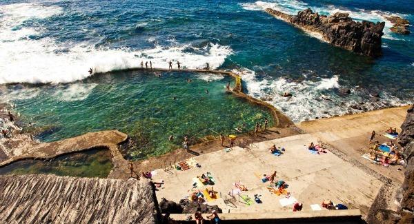 Piscine naturelle de la Maceta, Îles Canaries