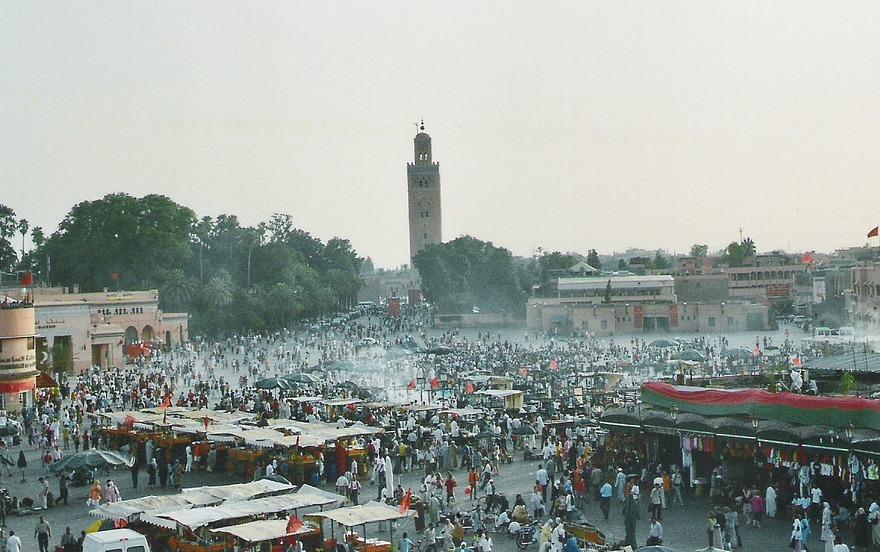 Place jemaa el fna à Marrakech