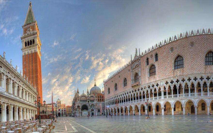 Place Saint-Marc à Venise