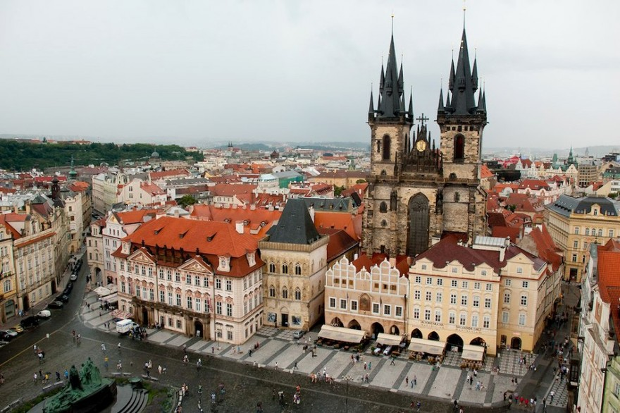 Place Stare Mesto à Pragues