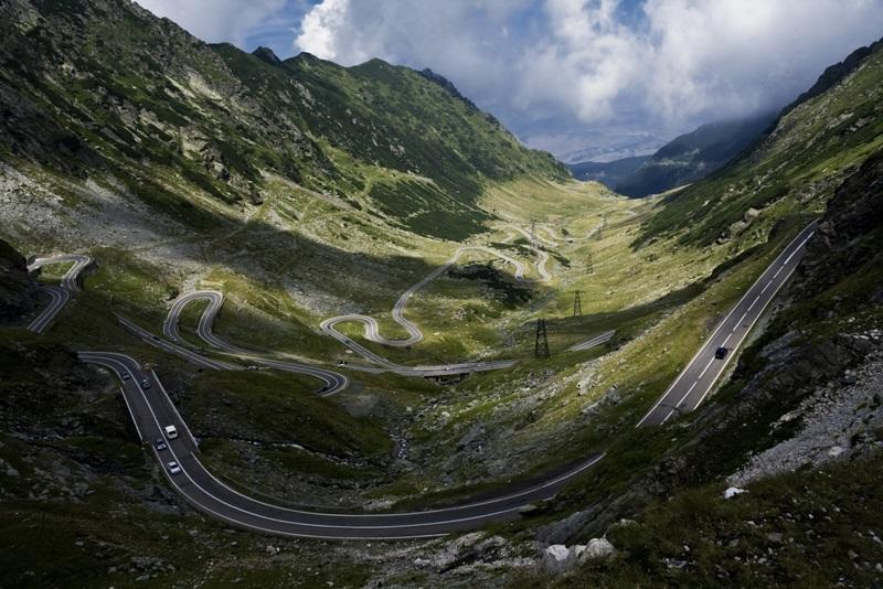 Route de Transfagaras en Roumanie