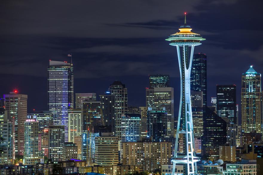 Space Needle à Seattle