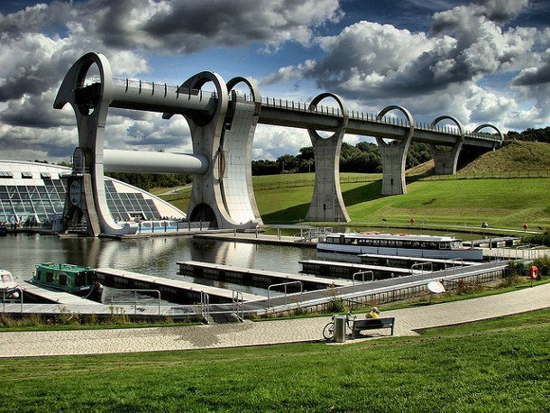The Falkirk Wheel - Ecosse