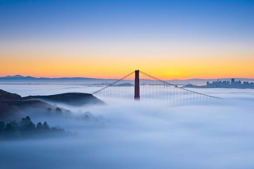 Top paysages au dessus des nuages