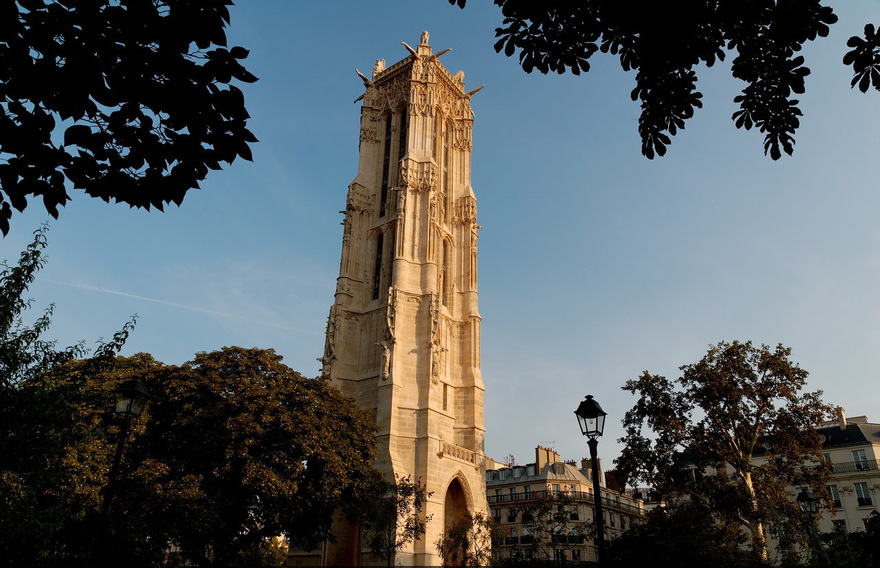 Tour Saint-Jacques à Paris