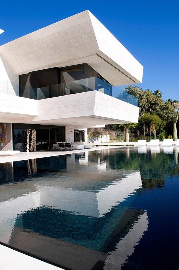 Une somptueuse villa à Marbella en Espagne