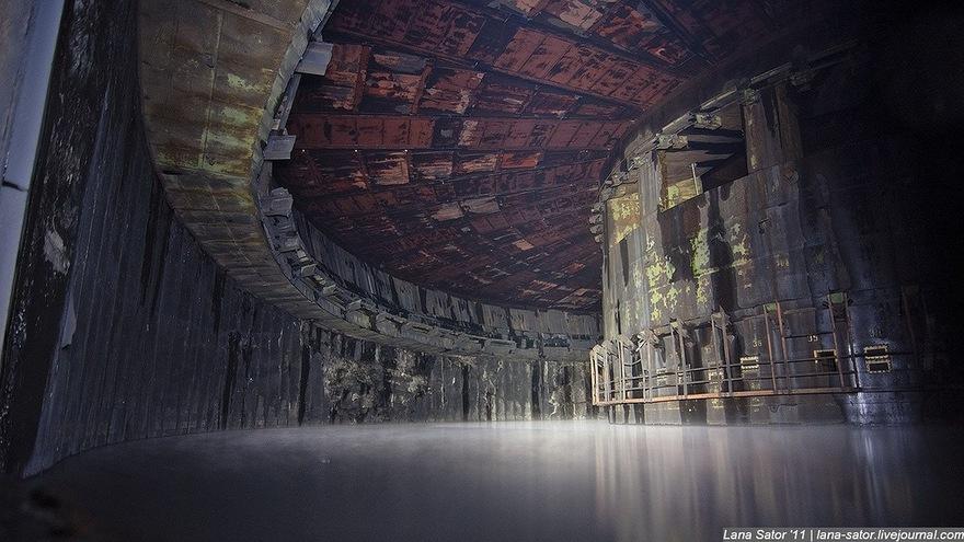 Une usine de roquettes à l'abandon en Russie