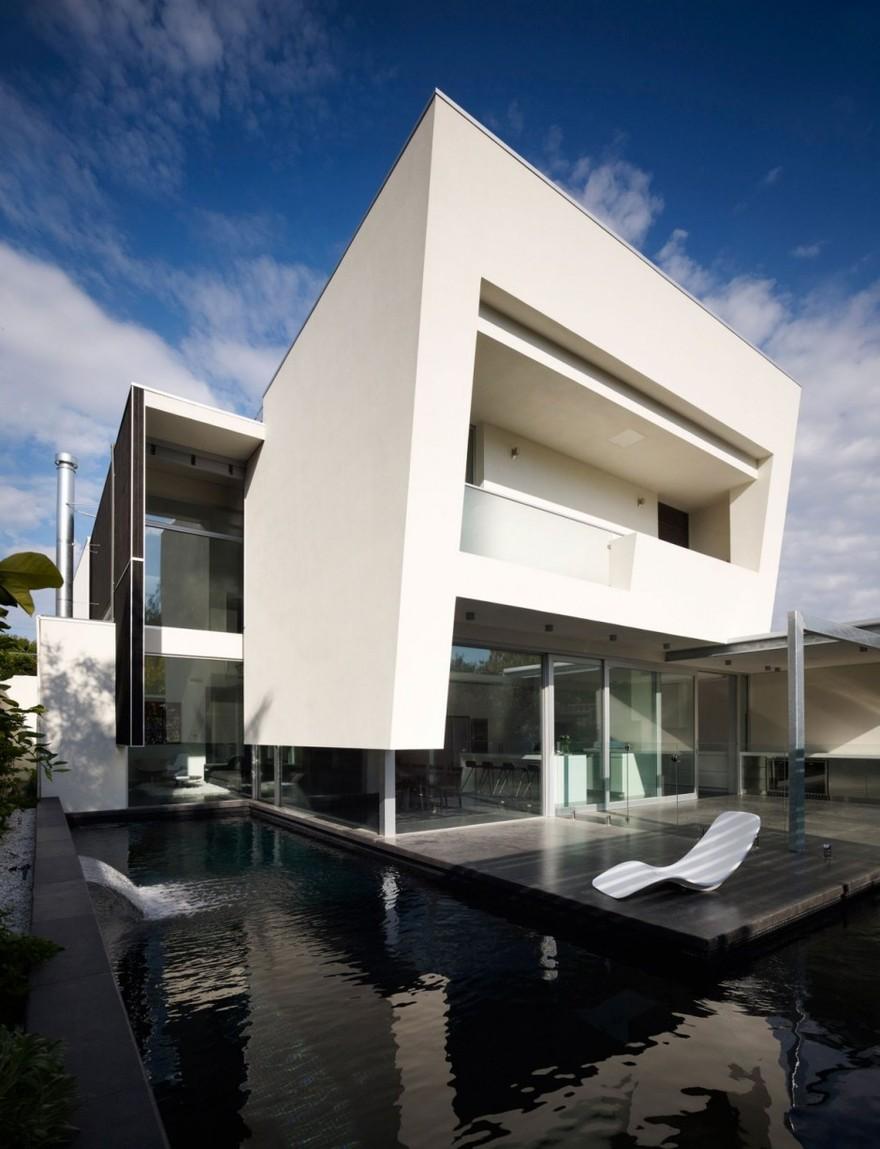 Villa design Road House à Melbourne