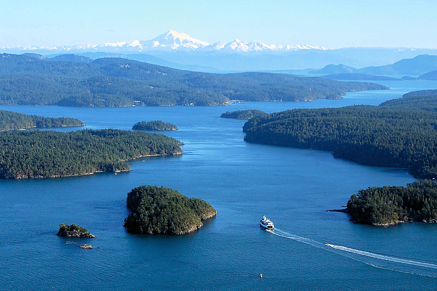 Îles San Juan, Etat de Washington, États-Unis