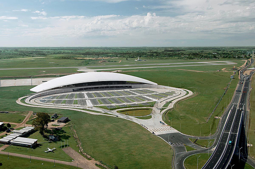 Aéroport international de Carrasco en Uruguay