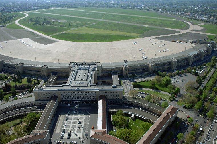 Aéroport international de Tempelhof en Allemagne