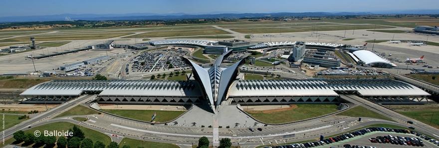Aéroport Lyon-Saint Exupéry en France