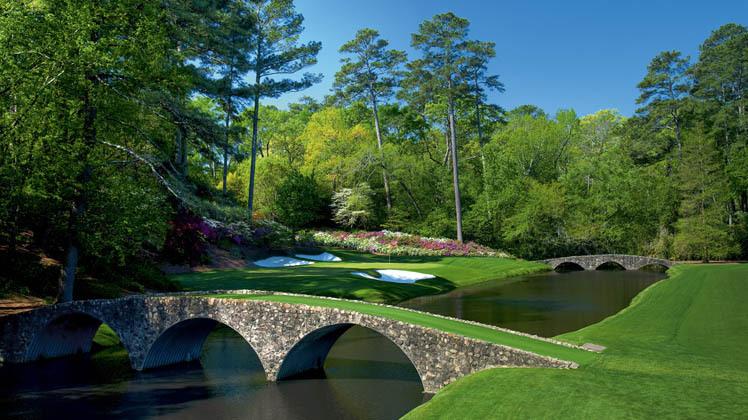 Augusta National Golf en Géorgie, États-Unis