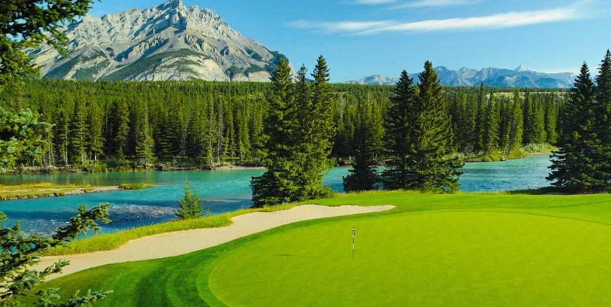 Banff Springs Golf au Canada