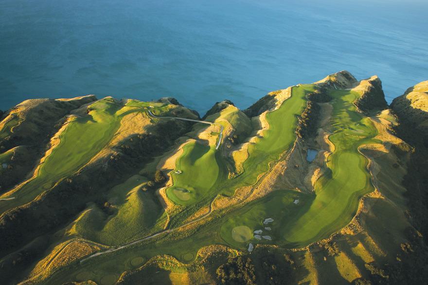Golf de Cape Kidnappers en Nouvelle-Zélande