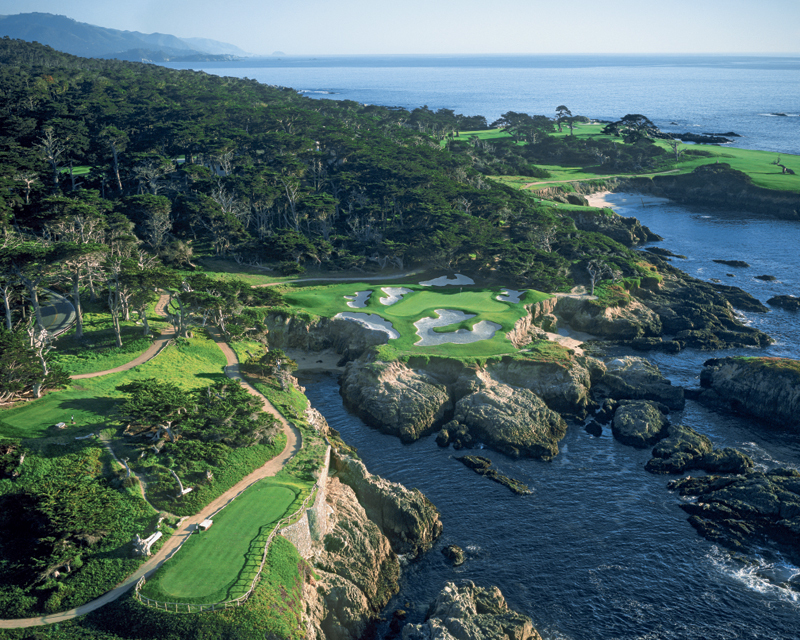 Golf de Cypress Point aux Etats-Unis