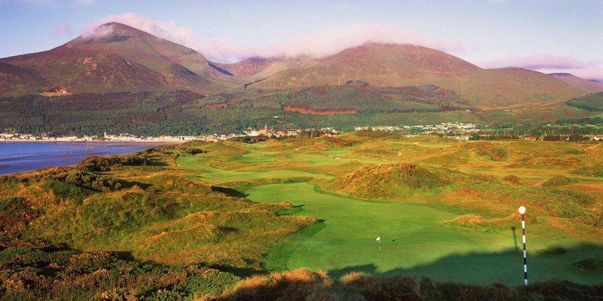 Golf de Royal County Down en Irlande du Nord