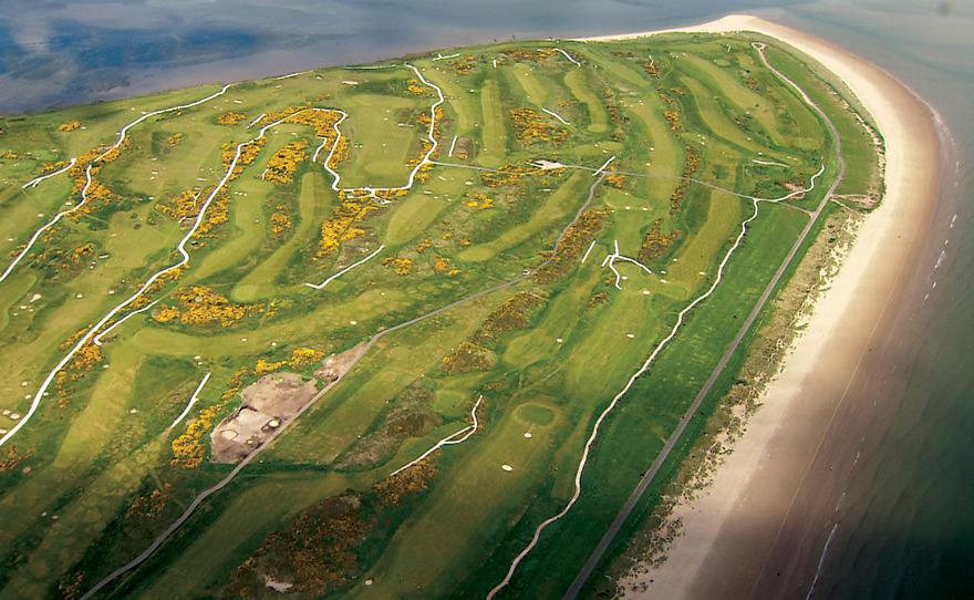 Golf de Saint Andrews en Ecosse