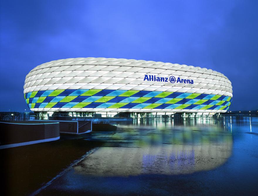 L'Allianz Arena du Bayern Munich