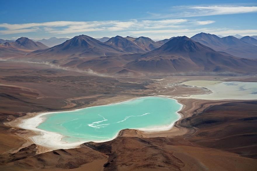 Laguna Verde, lac de Bolivie