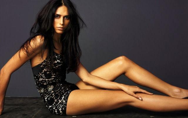 Le mannequin brésilien Lea T