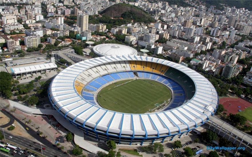 Le stade Maracanã de Rio de Janeiro