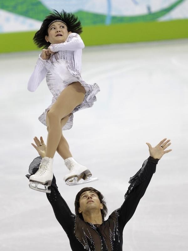 La peur dans les yeux de cette danseuse en patinage artistique