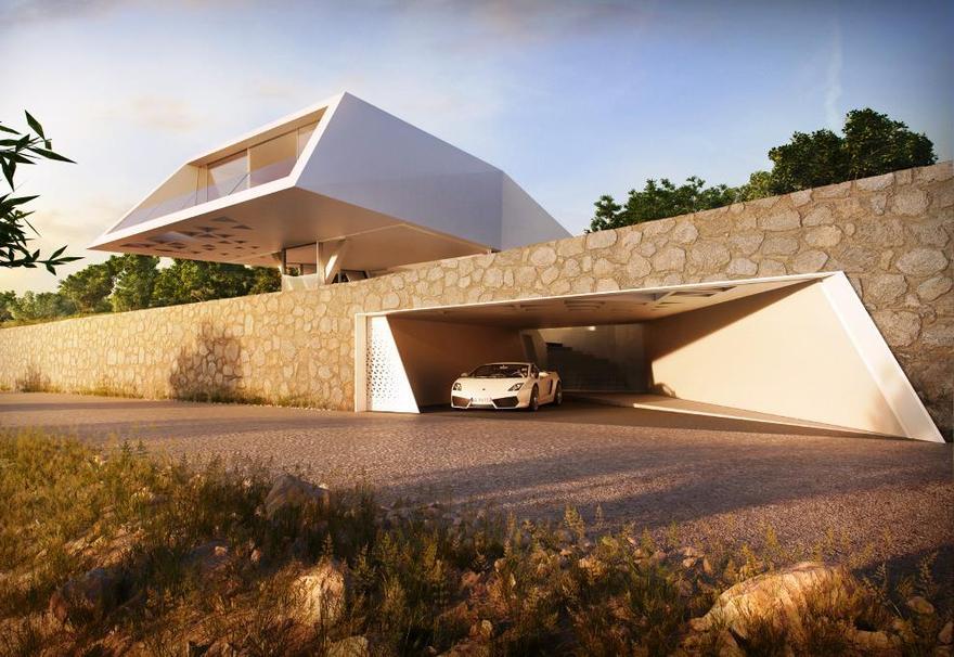 Maison design en Grèce