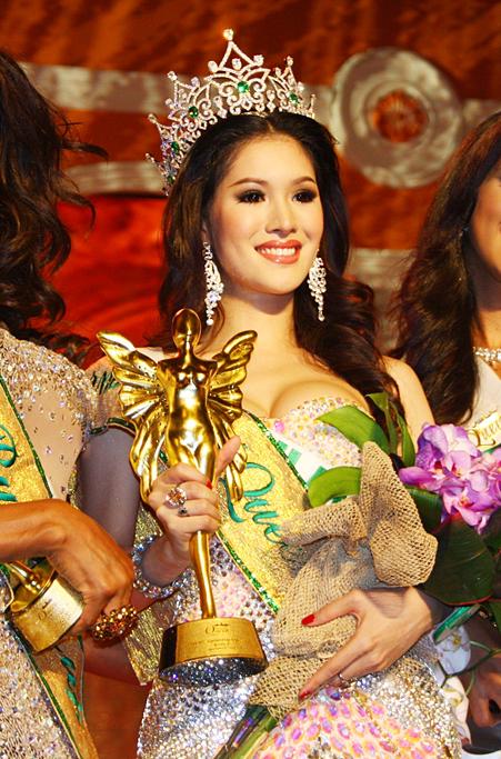 Miss Thailande Sirapassorn Atthayakorn
