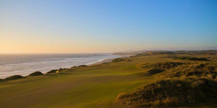 Parcours de golf de Bandon Dunes dans L'Oregon