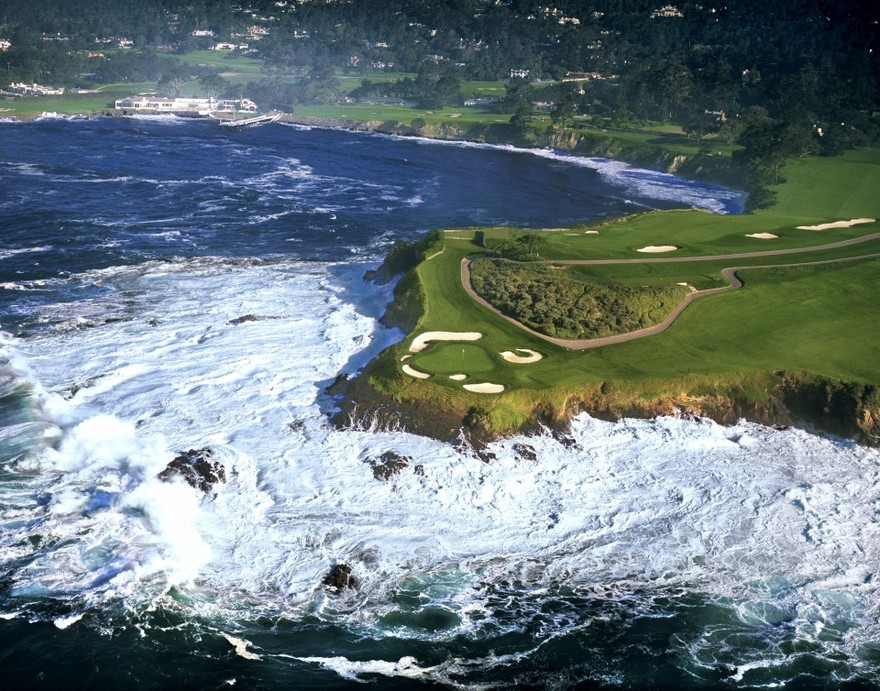 Pebble Beach Golf en Californie