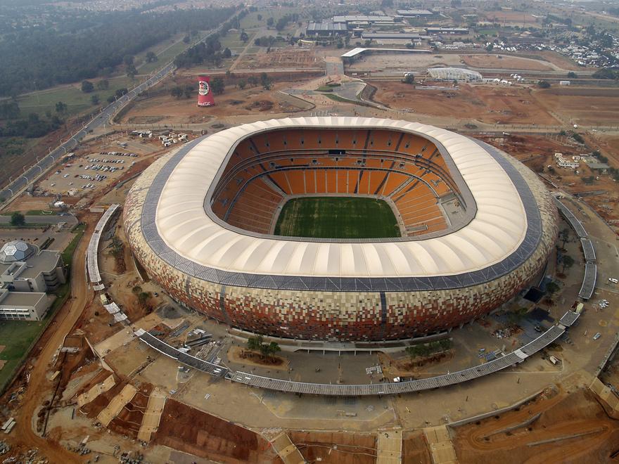 Soccer City en Afrique du Sud