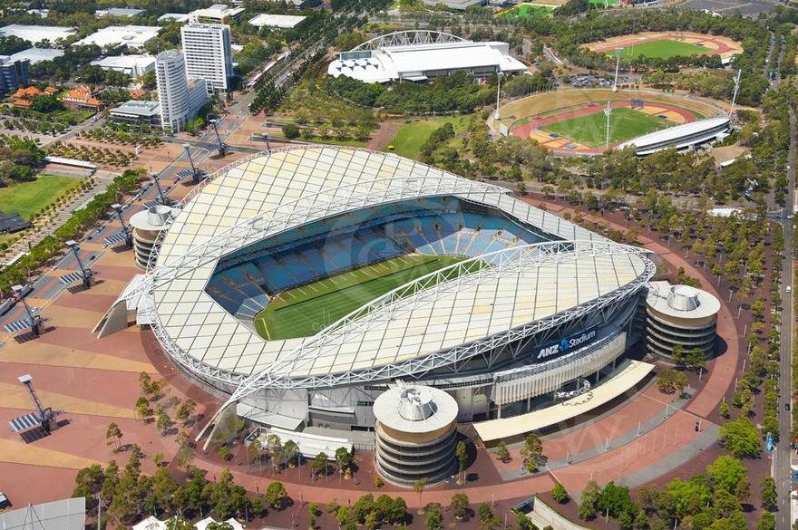 Stade ANZ à Sydney