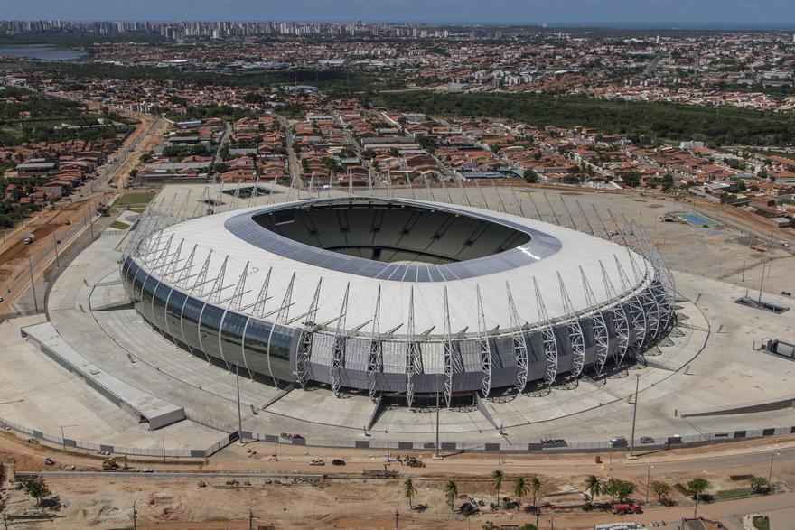 Stade de Castelão au Brésil