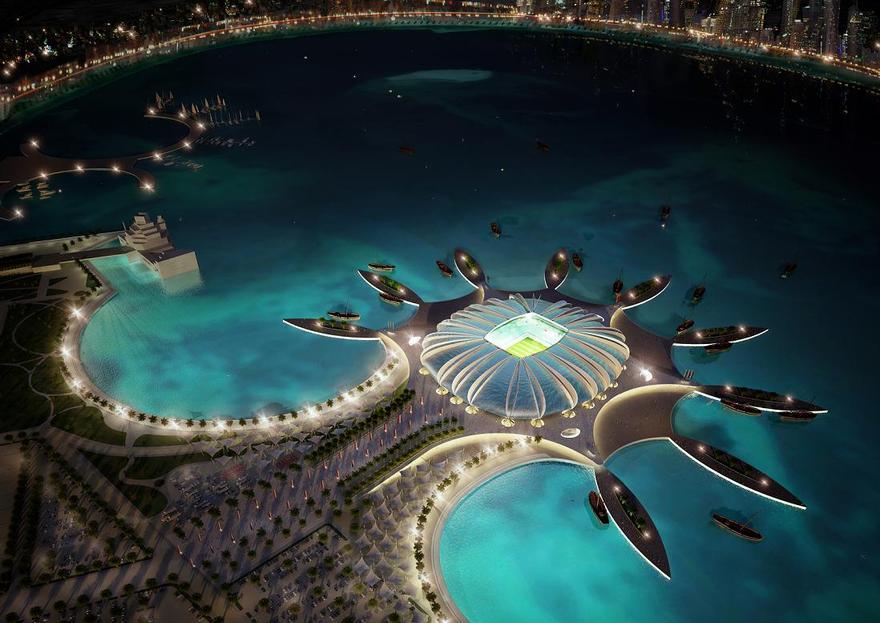 Stade Doha Port au Quatar