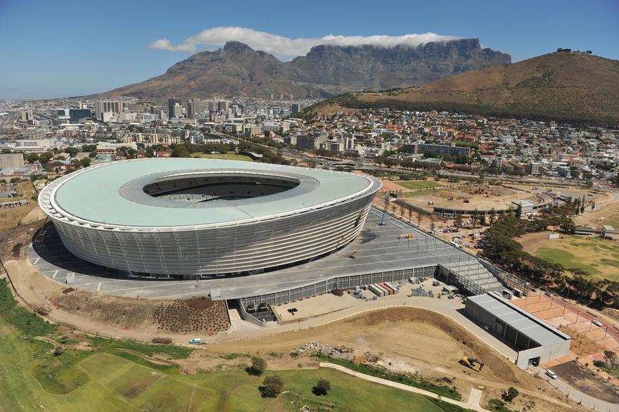 Stade Green Point en Afrique du Sud