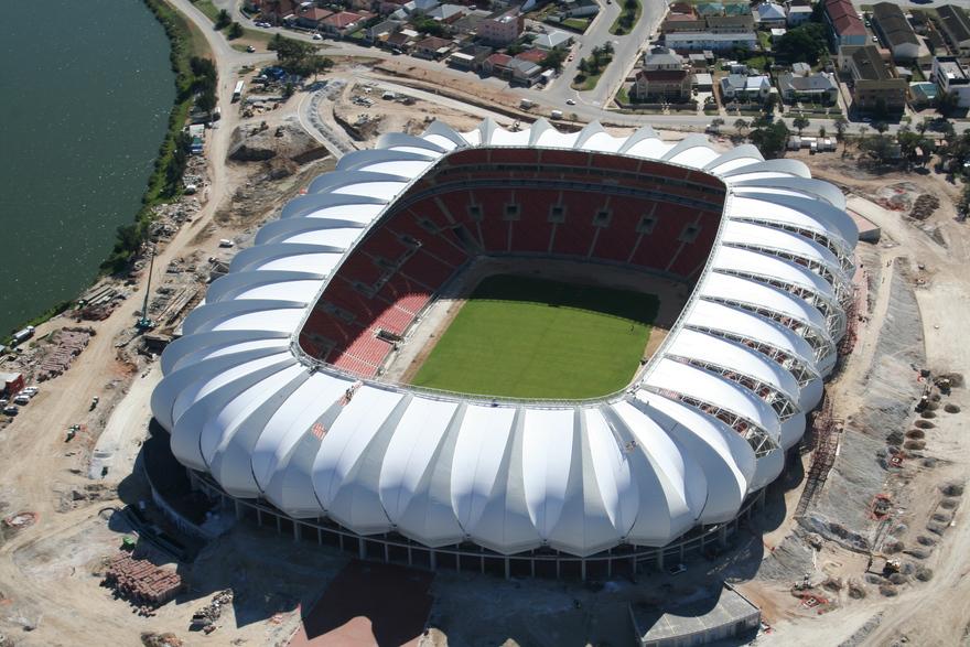 Stade Nelson Mandela en Afrique du Sud