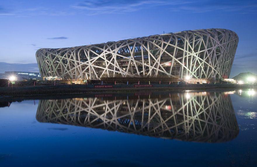 Stade Olympique Beijing en Chine