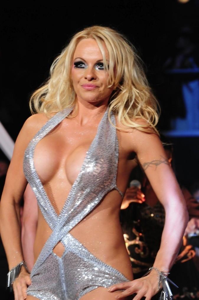 Le décolleté de Pamela Anderson