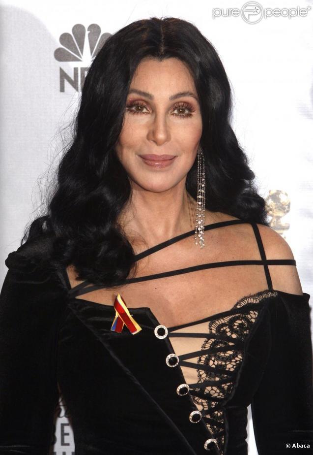 La chanteuse Cher