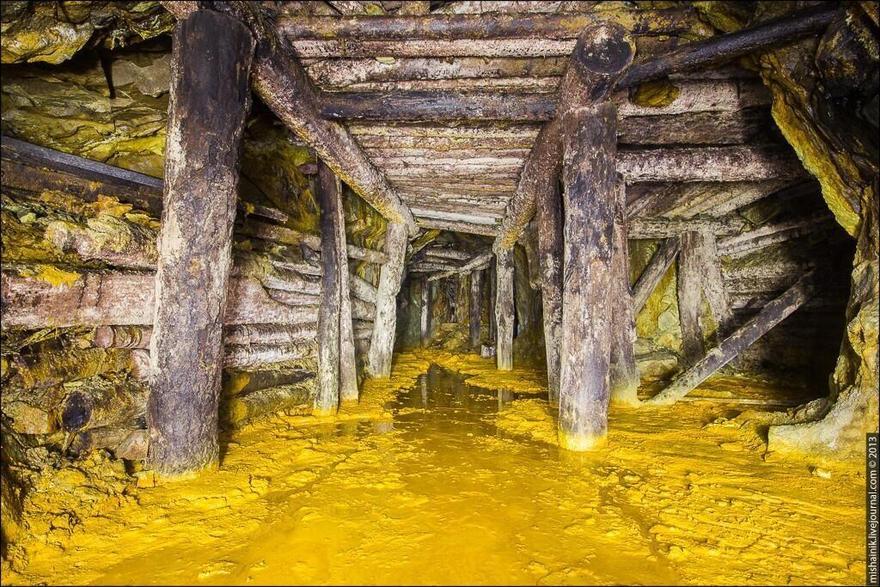 Mine abandonnée
