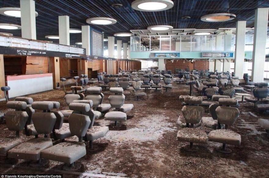 Un aéroport abandonné