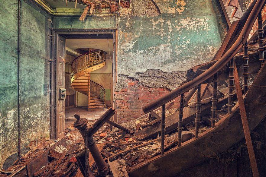 Un château abandonné