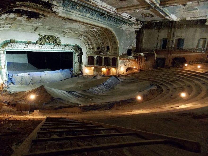 Un opera abandonné en Philadelphie